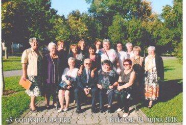 Deseta generacija bjelovarske Medicinske škole obilježila 45. godišnjicu mature