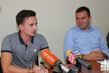 Sjajnog hrvatskog reprezentativca u streljaštvu Bjelovarčanina Mirana Maričića primio gradonačelnik Dario Hrebak