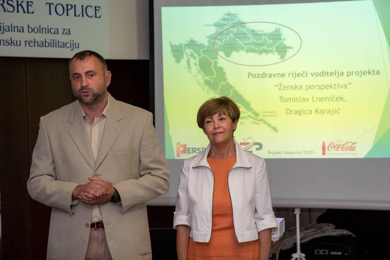 Fotografija 2_voditelji projekta Dragica Karajić i Tomislav Lneniček