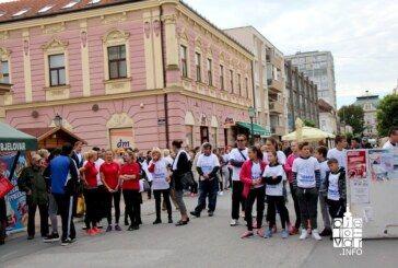 """Liga protiv raka BBŽ organizira tradicionalnu humanitarnu utrku """"Trčanjem protiv raka"""""""