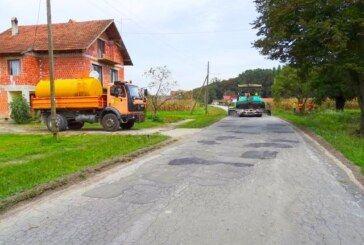 Župan Bajs obišao radove na obnovi prometnice u Velikom Pašijanu