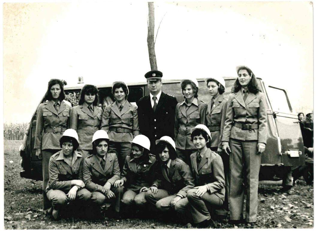 1977_Trento_Italia_srebrna_olimijska_vatrogasna_ medalja