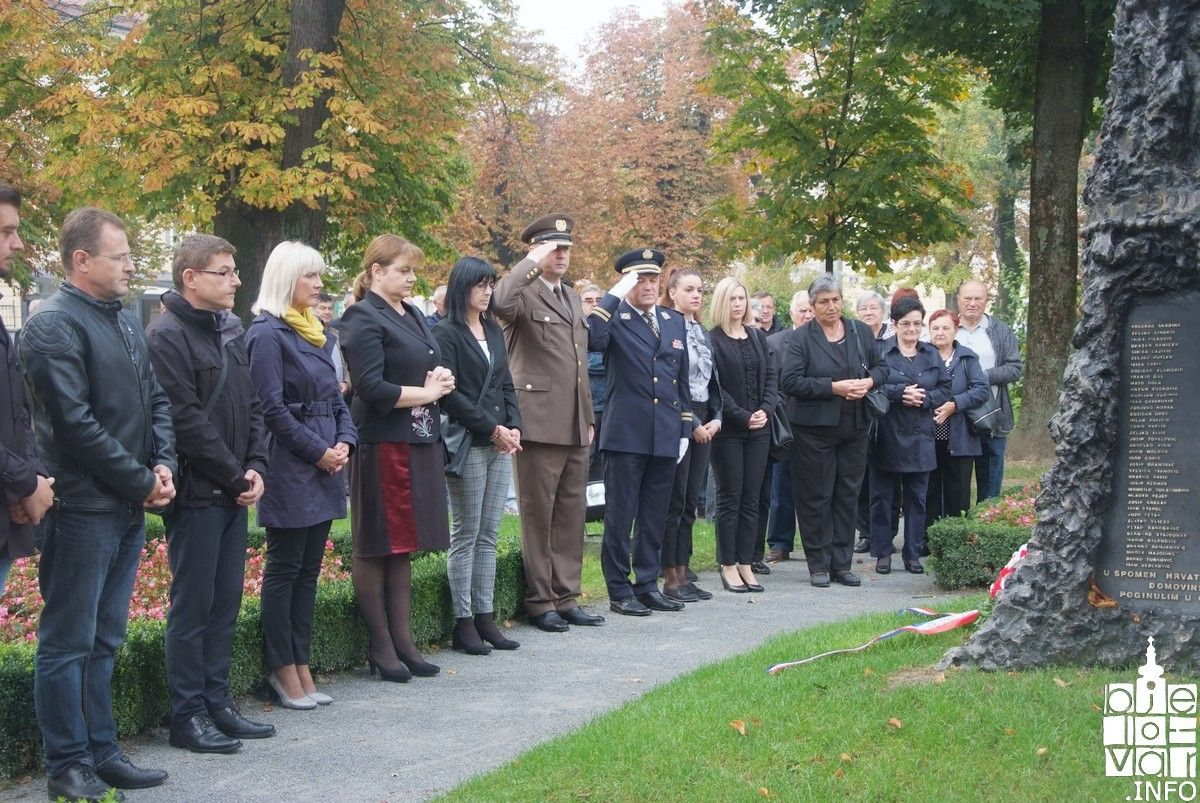 Bjelovar: Obilježen Dan neovisnosti Republike Hrvatske