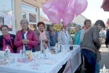 Bjelovarska udruga žena liječenih od karcinoma dojke Biser obilježila Dan ružičaste vrpce