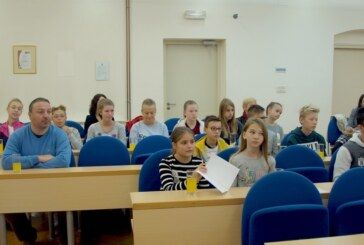 Svečana sjednica Dječjeg gradskog vijeća Grada Bjelovara u danima Dječjeg tjedna