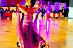 ZLATO za bjelovarski plesni par Petra i Ernu