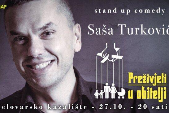 NOVI STAND-UP COMEDY U BJELOVARU: Show o obitelji koji će vas nasmijati do suza
