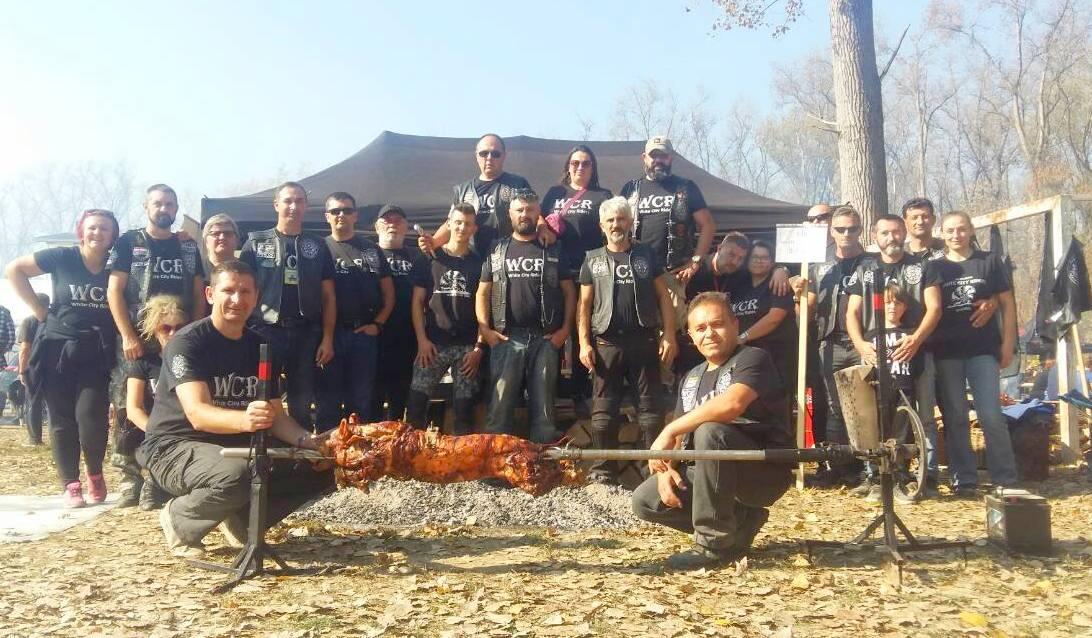 Moto klub White City Riders Bjelovar osvojio 2. mjesto u pečenju pečenki u Slavonskom Brodu