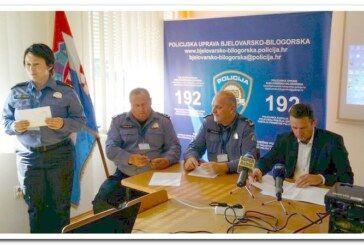"""U Daruvaru održana izvanredna konferencija za medije zbog kaznenih djela """"Neovlaštene proizvodnje i prometa drogama"""""""