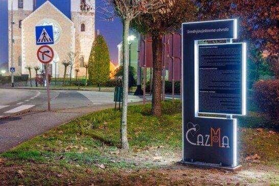 U Čazmi postavljene informativne turističke ploče