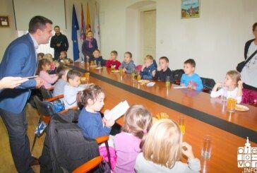 Vrtićanci razgovarali s gradonačelnikom o Međunarodnom danu dječjih prava