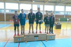 Medalje za Badminton klub Bjelovar na zadnjem kolu Regionalnog kupa