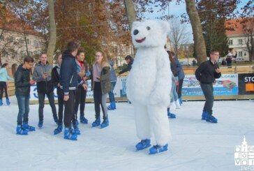 Otvorena klizališna sezona u Bjelovaru: trajat će do 13. siječnja 2019.