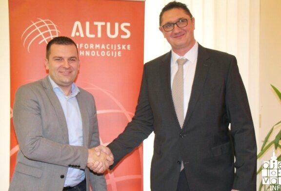 Grad Bjelovar bogatiji za još jednu IT tvrtku: Altus IT otvorio ured u Bjelovaru