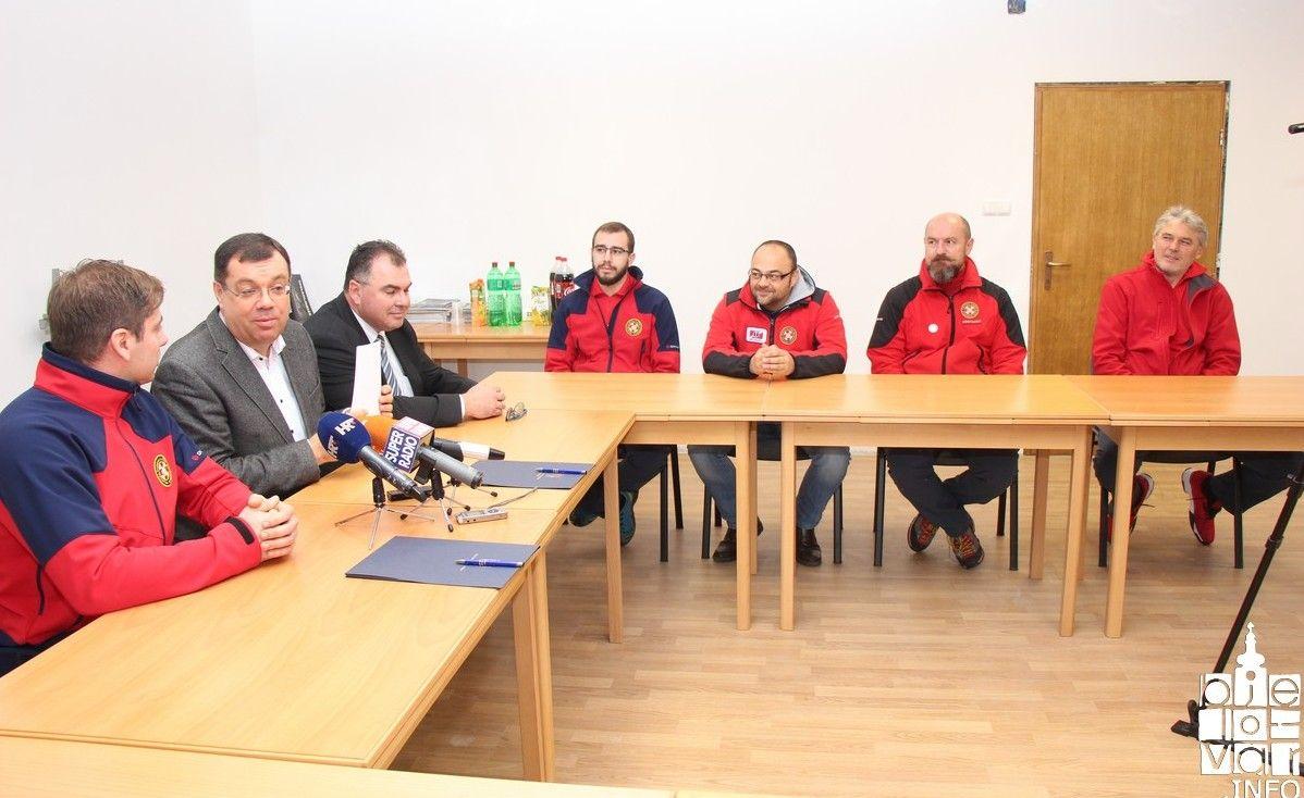 Župan Bajs potpisao ugovor za financiranje djelatnosti HGSS-a Stanice Bjelovar