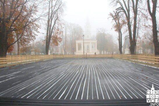 Svečano otvorenje bjelovarskog klizališta najavljeno za sljedeći tjedan