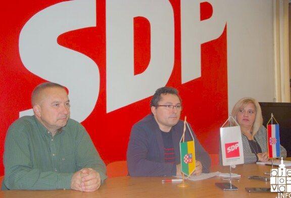 SDP Bjelovarsko-bilogorske županije : Da je prugu zvana čežnja preuzela Družba Pere Kvržice, već bi bila gotova