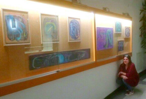 U bjelovarskoj Knjižnici otvorena izložba radova buduće akademske slikarice Petre Šabić
