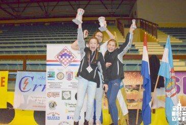 Vukovar open 2018: Nova tri zlata, tri srebra i tri bronce za Taekwondo kluba Bjelovar