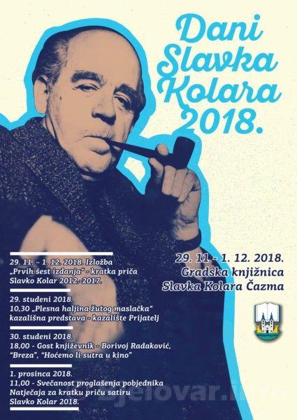 Dani Slavka Kolara 2018