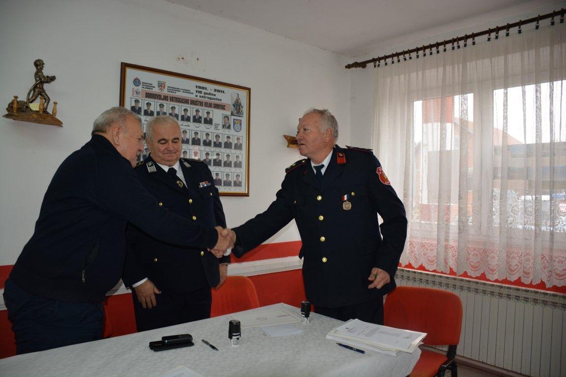 Bjelovarsko-bilogorska županija osigurala 270 tisuća kuna za opremanje dobrovoljnih vatrogasnih društava BBŽ-a