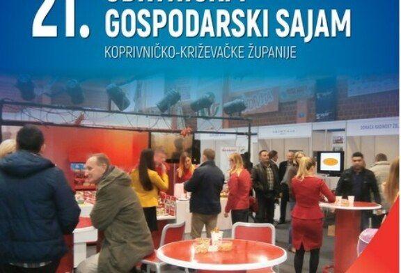 Bjelovarsko-bilogorska županija partner 21. Obrtničkog i gospodarskog sajma Koprivničko-križevačke županije