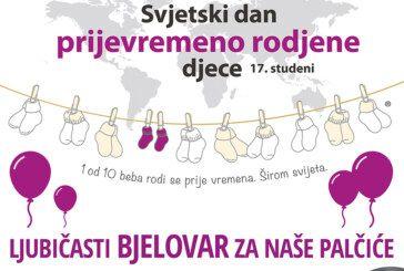 Bjelovar: Međunarodni dan svjesnosti o prijevremenom rođenju-DAN PALČIĆA 17.11.2018