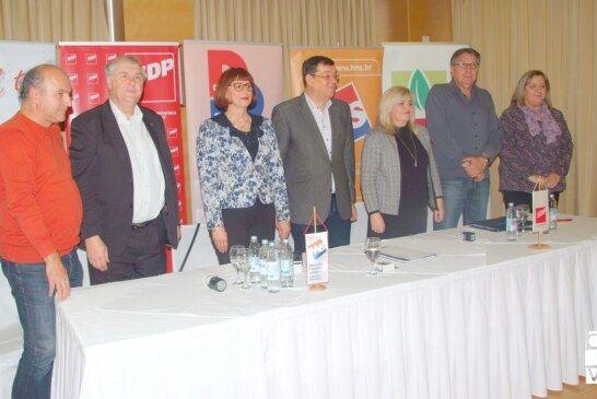 Nezavisna lista Damira Bajsa s koalicijskim partnerima izlazi na izbore za Vijeća mjesnih odbora grada Bjelovara