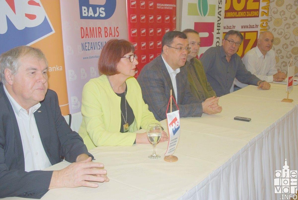 Koalicija predvođena NL Damir Bajs predala 29 kandidacijskih lista za izbore Vijeća mjesnih odbora Grada Bjelovara i najavila PROGRAM ZA SVAKI POJEDINI MJESNI ODBOR