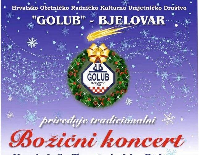 Božićni koncert HORKUD Goluba u Katedrali sv. Terezije Avilske