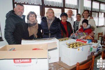 Bjelovarski ABB i HDS posjetili korisnike Pučke kuhinje povodom nadolazećih blagdana