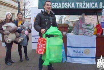 Rotary klub Bjelovar: Tradicionalna humanitarna akcija Djeca djeci za Božić