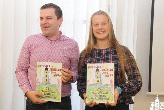 Veliki prijem kod gradonačelnika: Lucija Stančin dobitnica povelje za slikovnicu o gradu Bjelovaru
