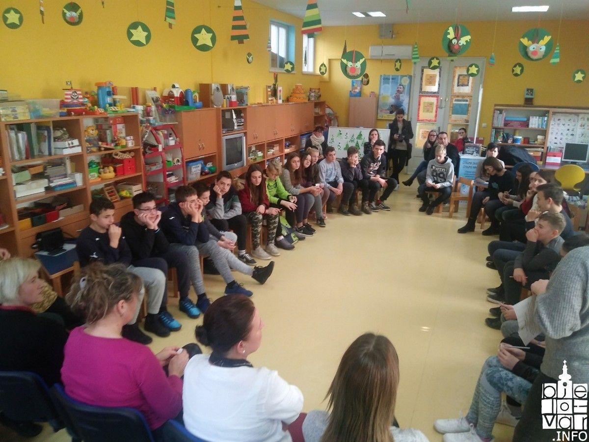 Svjetski dan volontera obilježen Spikaonicom u Dječjoj knjižnici Bjelovar