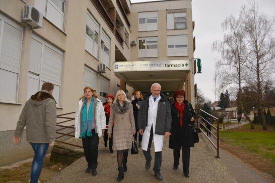 Uskoro raspisivanje natječaja za obnovu zgrade bolnice gdje se nalazi ginekologija, dispanzer za žene i stomatologija