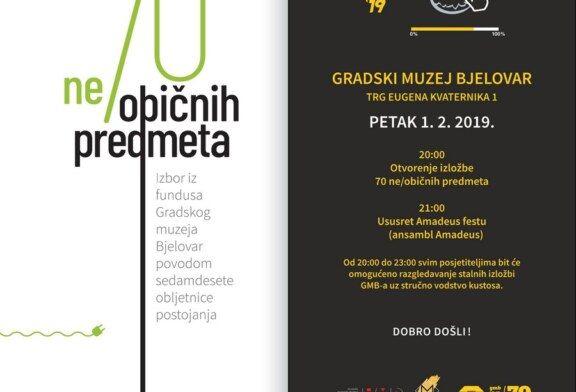 Noć muzeja 2019. u Bjelovaru