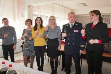 Nakon novogodišnje noći predstavnici Županije i Grada posjetili PU bjelovarsko-bilogorsku