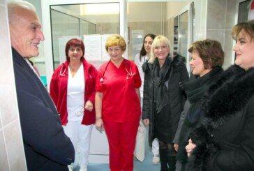 Predstavnici Županije i Grada obišli OHBP- hitni prijem OB Bjelovar: Novogodišnja noć je prošla mirno
