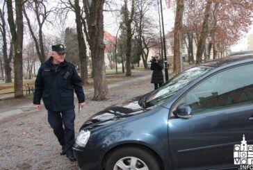 Tijekom provođenja akcije nepropisnog parkiranja na mjestima rezerviranim za osobe s invaliditetom utvrđeno 16 prekršaja