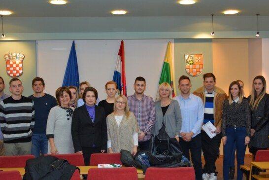 Novi  Savjet mladih Bjelovarsko-bilogorske županije na čelu s Kristianom Koščakom