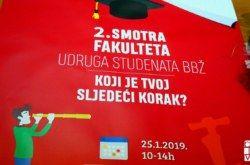 2. Smotra fakulteta Bjelovarsko-bilogorske županije održat će se u petak, 25.siječnja