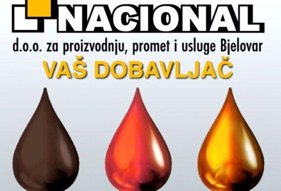 Kvalitetne proizvode uz najbolju tehničku podršku potražite u tvrtki Nacional d.o.o. Bjelovar