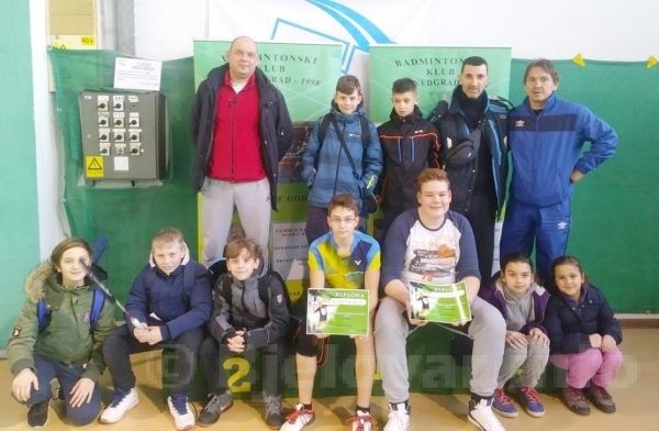 Badminton kluba Bjelovar osvojio izvrsne rezultate u drugom kolu Zagrebačke badmintonske lige