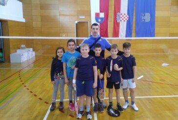 Bjelovarski BADMINTON poletarci nastupili u I. kolu Hrvatskog kupa