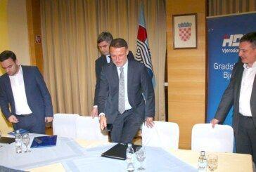 Jandroković u Bjelovaru: Europski izbori pokazat će snagu HDZ-a