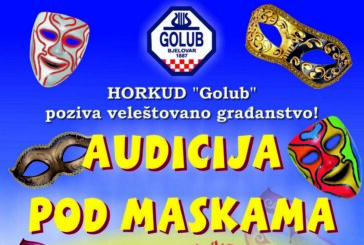 Audicija pod maskama u organizaciji HORKUD- a Golub