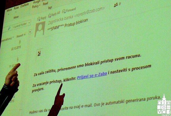 Kako se zaštititi od prevara na Internetu bila je tema radionica Pučkog učilišta Bjelovar