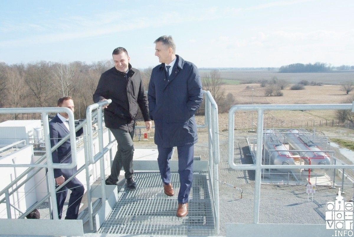 Ministar Marić službeno posjetio Grad Bjelovar i geotermalnu elektranu u Velikoj Cigleni