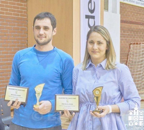 Dodijeljena priznanja najboljima u rukometu u Bjelovarsko-bilogorskoj županiji
