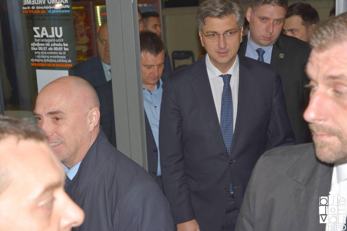 Plenković u Bjelovaru o sudbini Uljanika:
